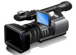 Video camera for using video for promotion