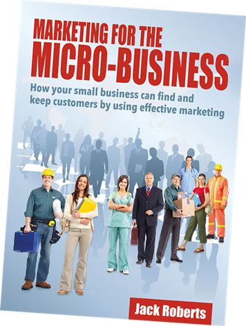 Buy the Marketing for the Micro-business eBook for £8